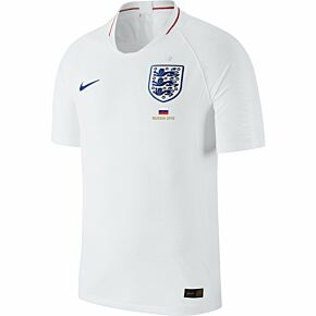England Home Jersey 2018 / 2019 + FREE Russia 2018 Transfer