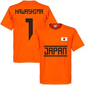 Japan Kawashima 1 Team Tee - Orange