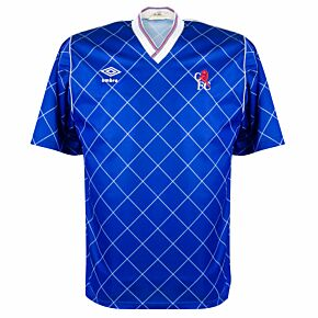 Umbro Chelsea 1987-1989 Home Shirt - Player Issue - USED Condition (Great) - Size M