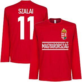 Hungary Szalai L/S Team Tee - Red