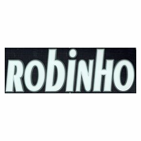 Robinho (Name Only) - 05-06 Real Madrid Away Official Name Transfer