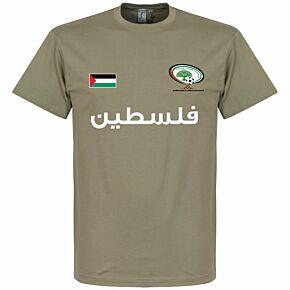 Palestine Tee - Khaki