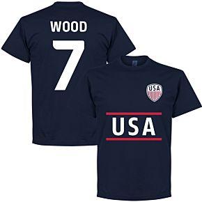 USA Wood Team Tee - Navy