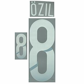 Özil 8 - Germany Away Official Name & Number 2014 / 2015
