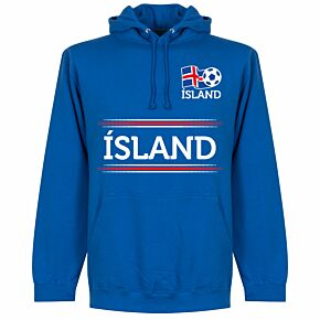 Iceland Team KIDS Hoodie - Royal