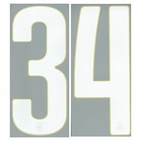 Individual Numbers - Official Front & Back Number for Italy Home 2014 / 2015
