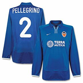 Nike Valencia 2000-2001 3rd L/S Jersey - Pellegrino 2 - NEW Player Issue - Size L