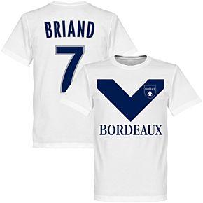 Bordeaux Briand 7 Team T-Shirt - White