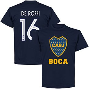 Boca De Rossi 16 CABJ Crest KIDS T-Shirt - Navy