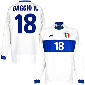 Kappa Italy 1999-2000 Away Baggio R. 18 Shirt NEW (w/tags) Condition (Excellent) - Size XL