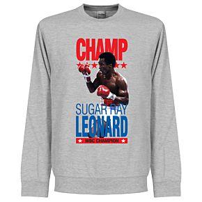 Sugar Ray Leonard Legend Sweatshirt - Grey