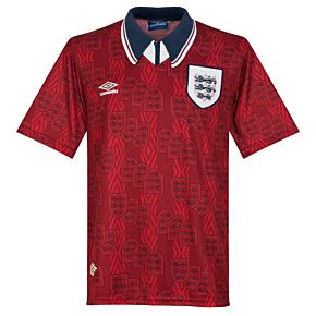 Umbro England 1993-1995 Away Jersey - USED Condition (Great) - Size XL