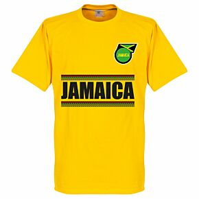 Jamaica Team Tee - Yellow