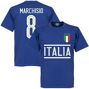 Italy Marchisio Team Tee - Royal