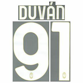 Duván 91 (Official Printing) - 21-22 Atalanta Home