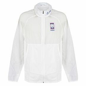 20-21 Korea Academy Training Jacket - White