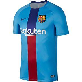 Barcelona Dri-FIT Squad Training Top 2018 / 2019 - Blue
