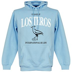Uruguay Rugby Hoodie - Sky