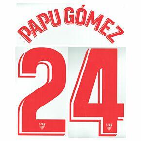 Papu Gómez 24 (Official Printing) - 21-22 Sevilla Home