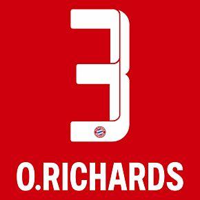O.Richards 3 (Official Printing) - 21-22 Bayern Munich Home