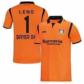 Bayer Leverkusen GK Leno 1 Jersey 2017 2018 (Fan Style Printing)