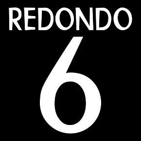 Redondo 6 - Real Madrid Away 1998-1999 Replica Flex Printing