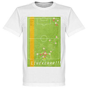 Pennarello Gary Lineaker 1986 Classic Goal Tee - White