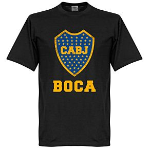 Boca CABJ Crest KIDS Tee - Black