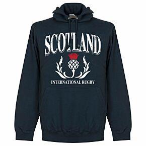 Scotland Rugby Hoodie - Navy
