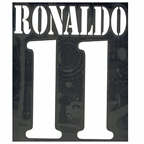 Ronaldo 11 - 02-03 Real Madrid Away Flex Name and Number Transfer