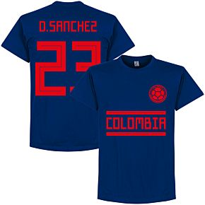 Colombia D. Sanchez 23 Team Tee - Ultra