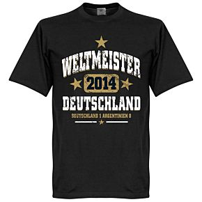 Deutschland Weltmeister Tee - Black