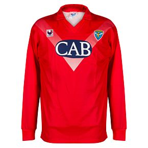 Uhlsport Brescia 1990-1992 Away Shirt L/S USED Condition (Excellent) - Size XL