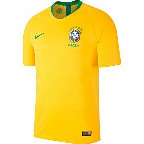 Brazil Home Vapor Match Jersey 2018 / 2019