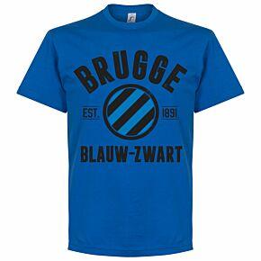 Brugge Established Tee - Royal