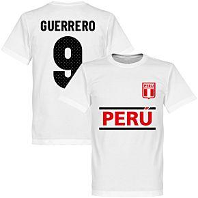 Peru Guerrero 9 Team Tee - White