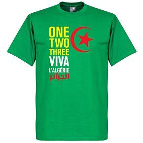 Viva L'Algerie Tee - Green