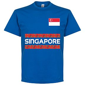 Singapore Team Tee - Royal