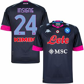 20-21 Napoli 3rd Shirt + Insigne 24 (Official Printing)