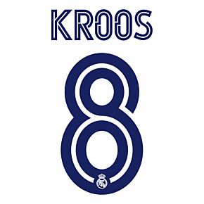 Kroos 8 (Official Printing) - 20-21 Real Madrid Home