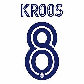 Kroos 8 (Official Printing) - 20-21 Real Madrid Home