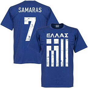 Greece Samaras Tee - Royal