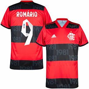 2021 Flamengo Home Shirt + Gabi 9 (Fan Style Printing)