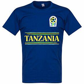 Tanzania Team Tee - Blue