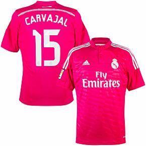 14-15 Real Madrid Away Shirt +Carvajal 15 (Official)