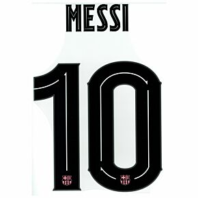 Messi 10 (Official Cup Printing) - 20-21 Barcelona 3rd