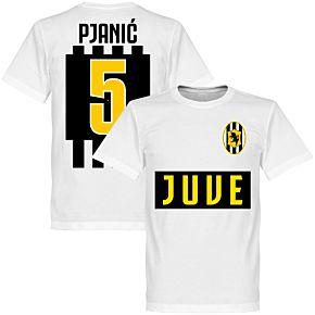 Juve Pjanic 5 Team T-shirt - White