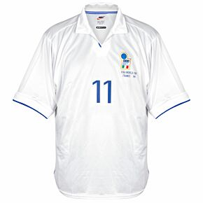 Nike Italy 1998-1999 Away Shirt NEW Condition (w/tags) Match Issue no 11 - Size XL