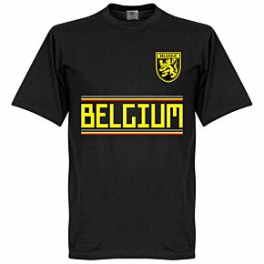 Belgium Team Tee - Black
