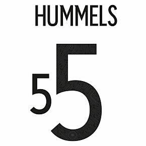 Hummels 5 (Official Printing) - 20-21 Germany Home